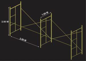 h-frame-standard-dimension
